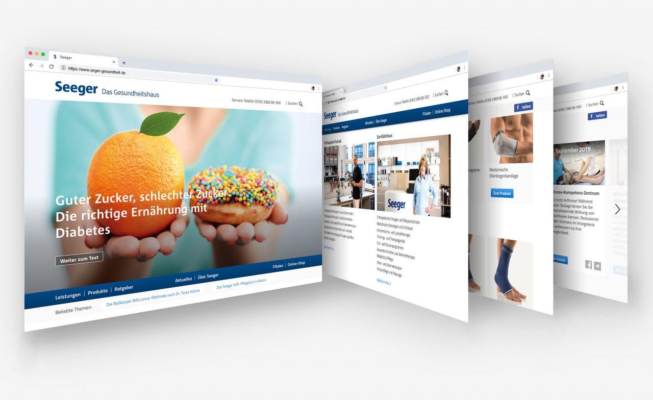 Bogun Dunkelau - Referenz: Seeger – Das Gesundheitshaus